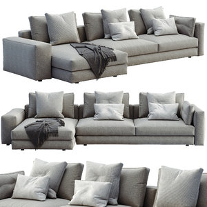 3D flou sofa myplace model