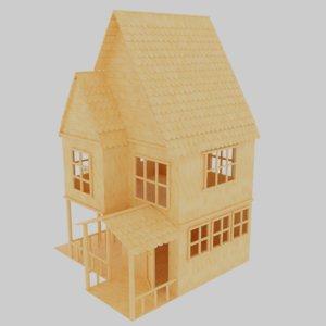 blender format 3D model