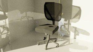 3D chair office swivel model