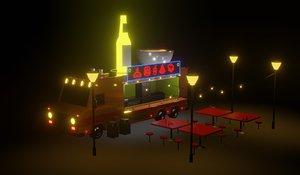 truck food land park model