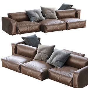 3D flexteam sofa reef model