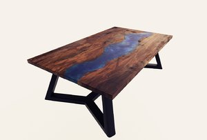 3D table resin