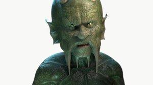 mythological spirit blender 3D model