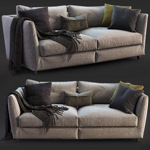 flexform sofa victor model