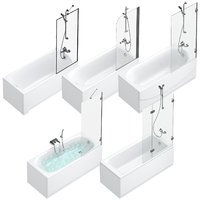 ath and shower curtains Villeroy & Boch, Sanitana, Roca, Ideal and Cersanit set 94