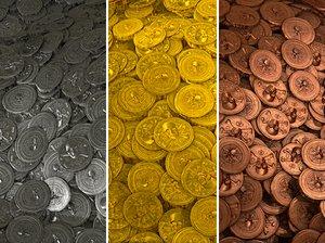 Aztec Coins - Game Texture