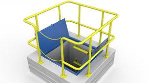 hatche sewage 3D model