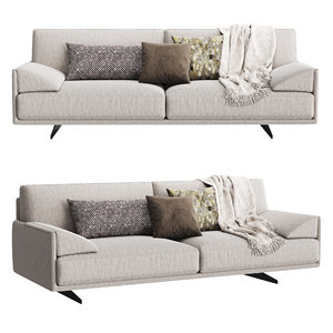 3D confort line loft sofa model