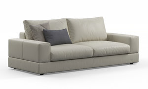 truman 2-seat sofa doimo 3D model