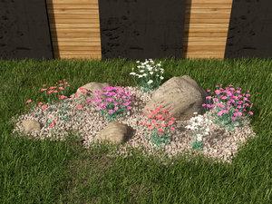 6 grass decorating 3D