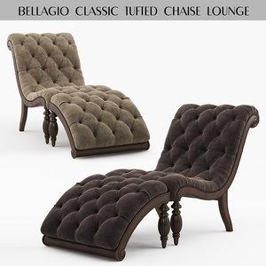 lounge classic 3D model