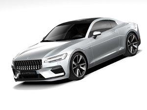 polestar 1 2021 3D model