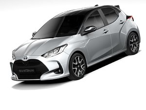 toyota yaris 2021 3D model