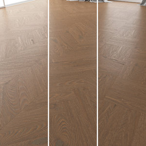 3D parquet oak vincinyatta brushed