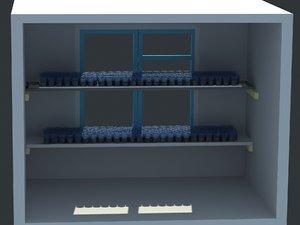 shelf germination disposable model