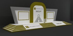 stage decoration 3D model