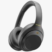 Sony WH-1000XM4 Black, Silver(1)