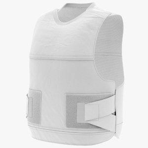3D bullet proof vest