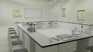 3D lab laboratory equipment