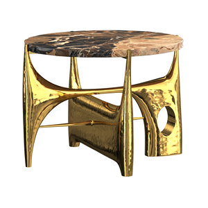 philippe hiquily coffee table 3D model