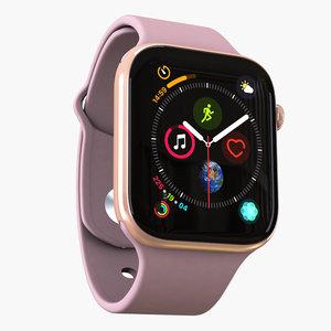 3D apple watch 4