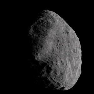 asteroid planetoid minor 3D model