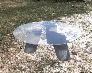 3D kelly wearstler table