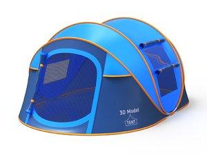 pop tent 3D model