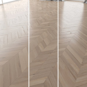 3D parquet oak vergne brushed