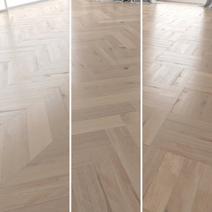 parquet oak vergne brushed 3D model