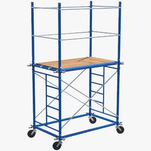 3D scaffoldings modular industry