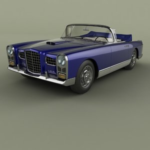 1956 facel vega fv2b model