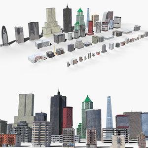 building sky 3D