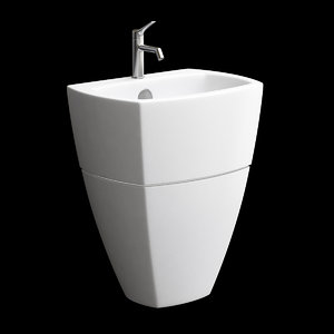 washbasin wash 3D model