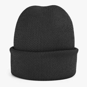 winter hat 1 3D