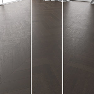 3D parquet oak brooklyn brushed