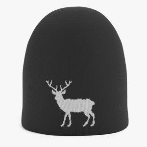 winter hat model