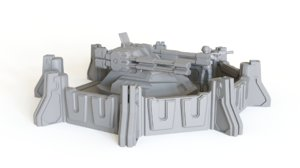 3D anti air emplacement tabletop