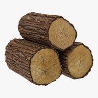 Wooden Logs 01