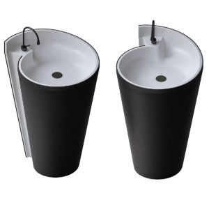 3D washbasin design wash model