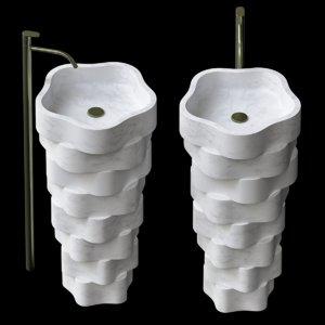 3D washbasin wash model
