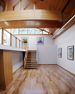 interior scene gallery 3D