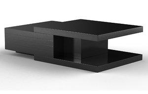 weber coffee table 3D model