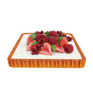 3D tart berry