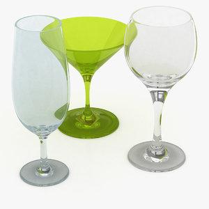 3D goblets
