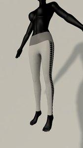 legging model