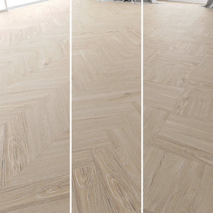 parquet oak arctic new 3D