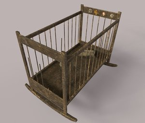 3D worn baby crib