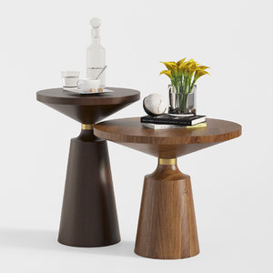 nicole coffee table set 3D