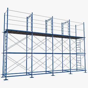 scaffoldings modular industry 3D model